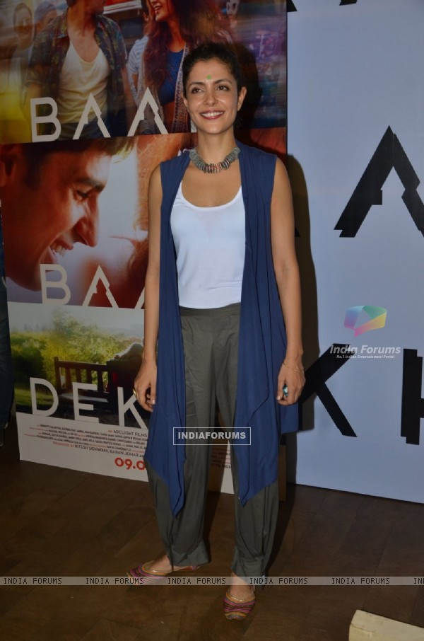 Nitya Mehra at Special screening of trailer 'Bar Bar Dekho'