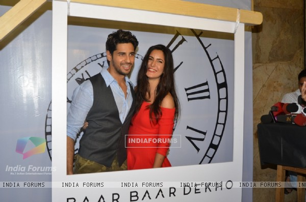 Katrina Kaif and Sidharth Malhotra at Special screening of trailer 'Bar Bar Dekho'