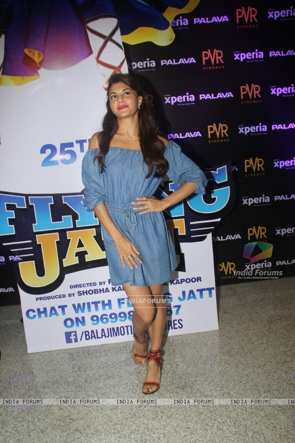 Jacqueline Fernandes Promotes 'A Flying Jatt' at new PVR in Dombivli