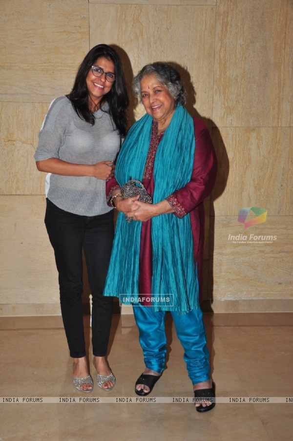 Shubha Khote and Bhavana Balsawer at India Mobile Film Festival 2016