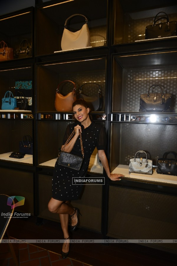 Jacqueline Fernandes at Launch of COACH In India
