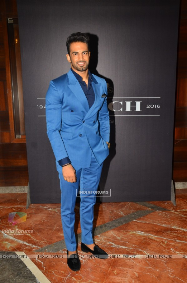 Upen Patel at Launch of COACH In India