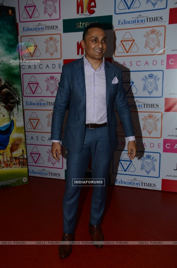 Rahul Bose at Promotion of  'A Flying Jatt' at Jamnabai's Cascade festival