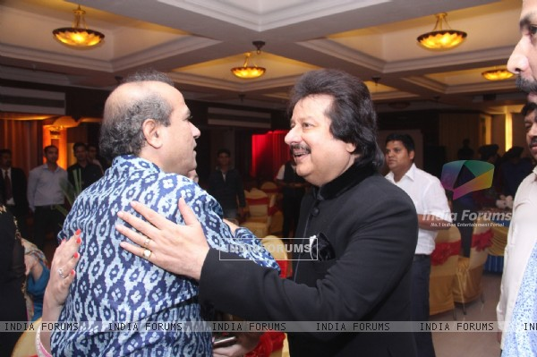 Pankaj Udhas at Suresh Wadkar's Birthday Bash!