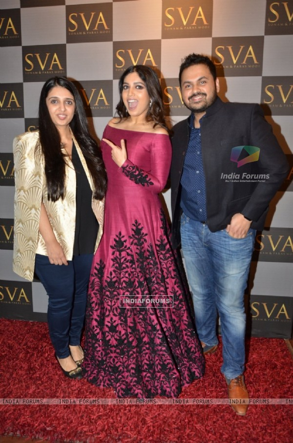 Bhumi Pednekar at SVA Autumn Winter collection launch
