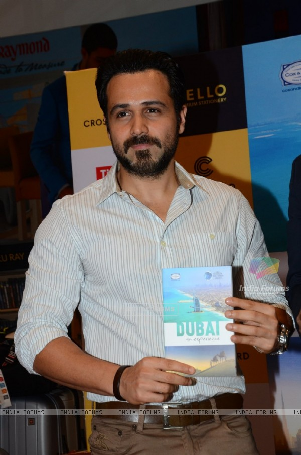 Emraan Hashmi at Dubai book launch