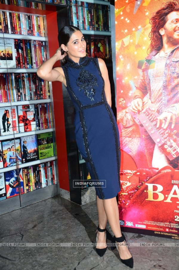 Nargis Fakhri at Trailer launch of movie 'Banjo'