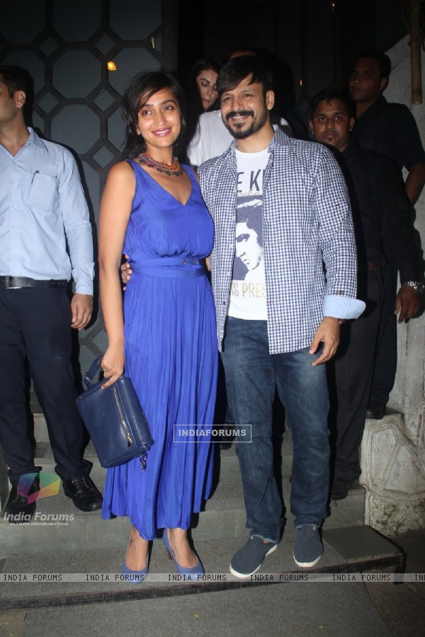 Vivek Oberoi at Rohini Iyer's Birthday bash!
