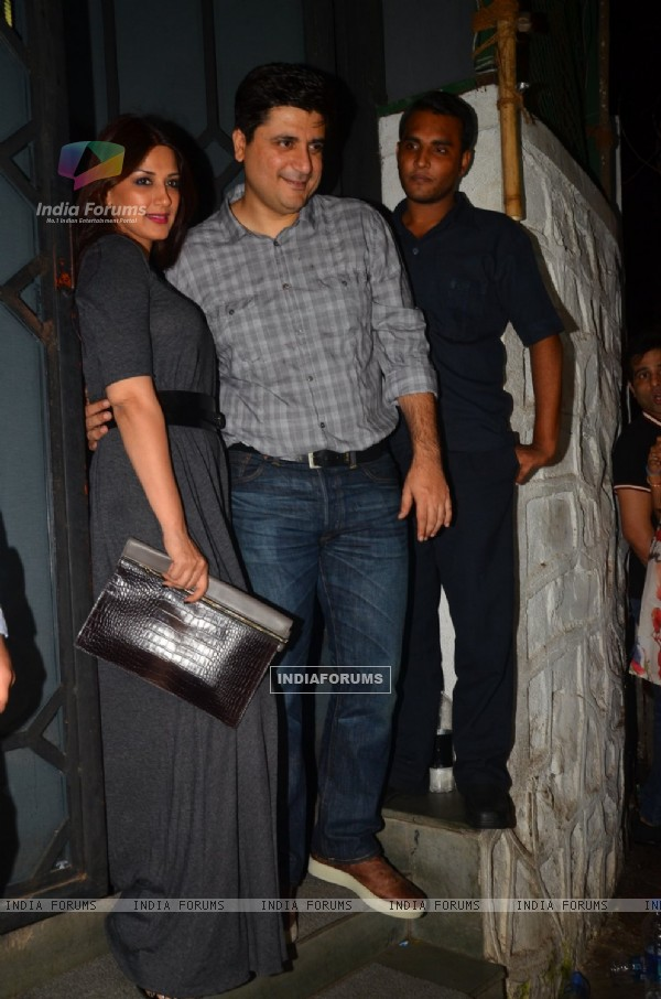 Sonali Bendre at Rohini Iyer's Birthday bash!