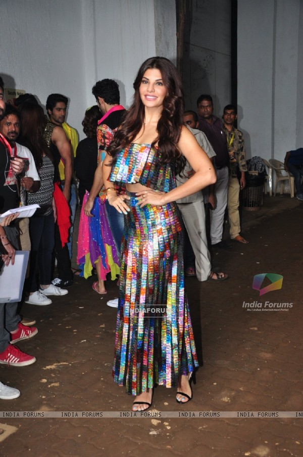 Jacqueline Fernandes at Promotion of 'Akira' On sets of Jhalak Dikhhla Jaa