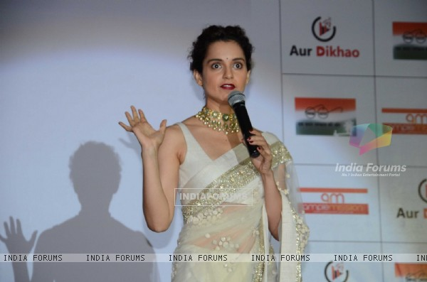Kangana Ranaut at Promotion of Swachh Bharat campaign