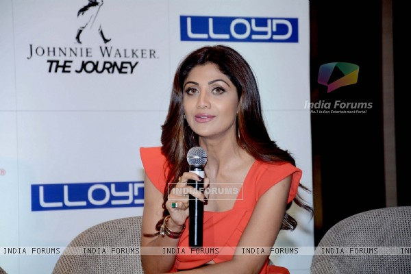Shilpa Shetty at Press conference of Social media Awards at Hotel Hyatt