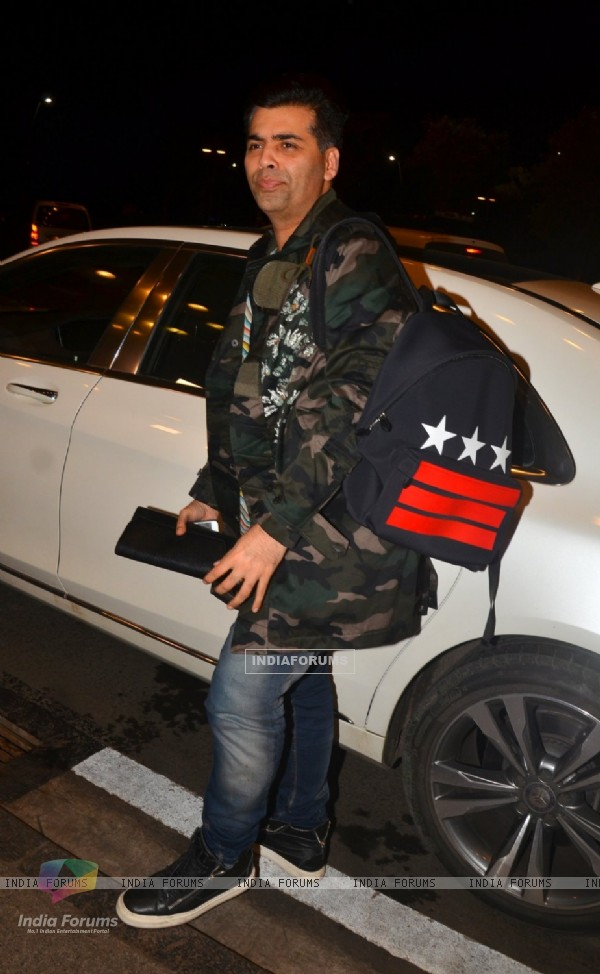 Karan Johar Snapped at Airport!