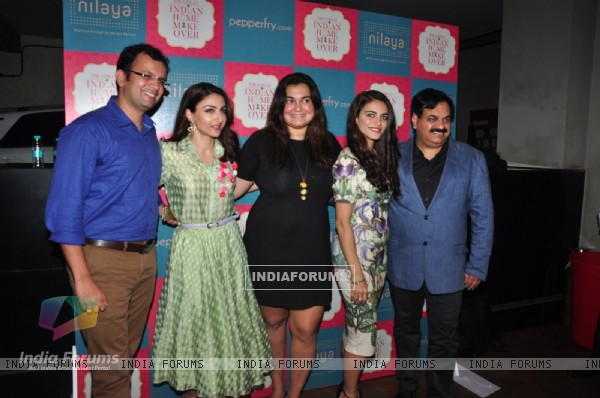 Soha Ali Khan, Divya Palat, Anjali Mody and other celebs at Promotion of Great Indian Home Maker