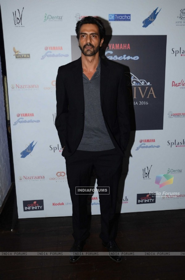 Arjun Rampal at Launch of Yamaha Fascino Miss Diva 2016