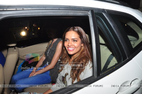 Esha Gupta at Screening of 'Rustom' at Sunny Super Sound