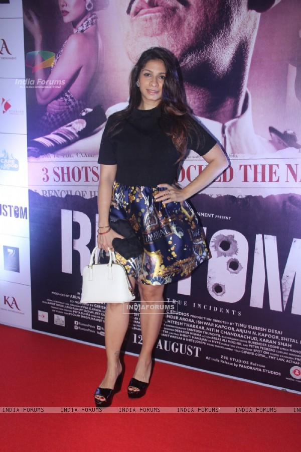 Tanishaa Mukerji at Special Screening of 'Rustom' at Yashraj Studios