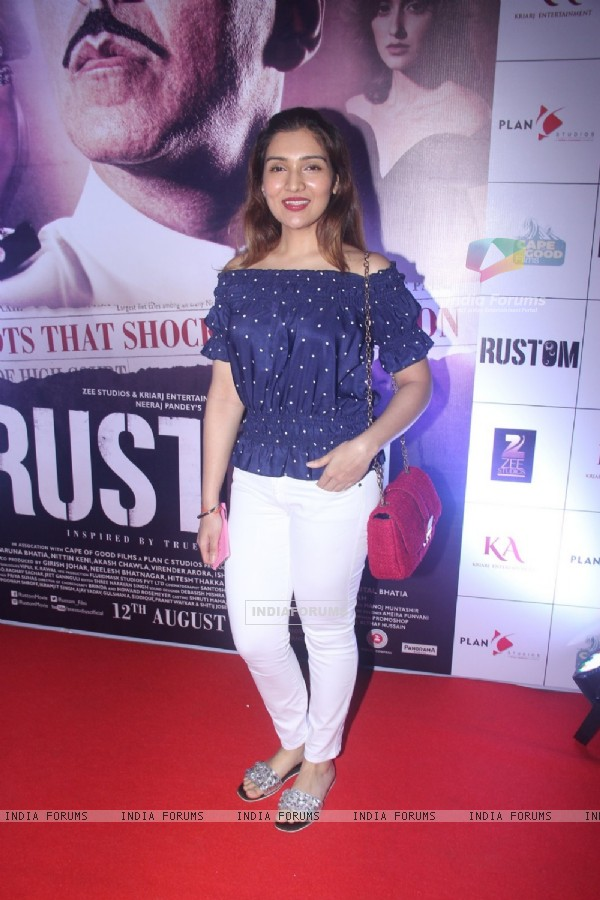 Tina Ahuja at Special Screening of 'Rustom' at Yashraj Studios