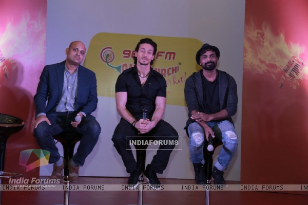 Tiger Shroff and Remo Dsouza Promotes 'A Flying Jatt' at Mirchi 98.3 FM in Chandigarh