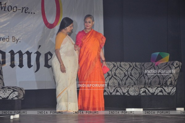 Jaya Bachchan at Umang fest in NM college