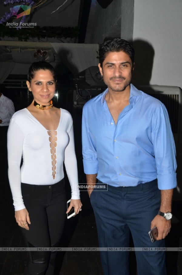 Vikas Bhalla at Manasi Scott's Album Launch