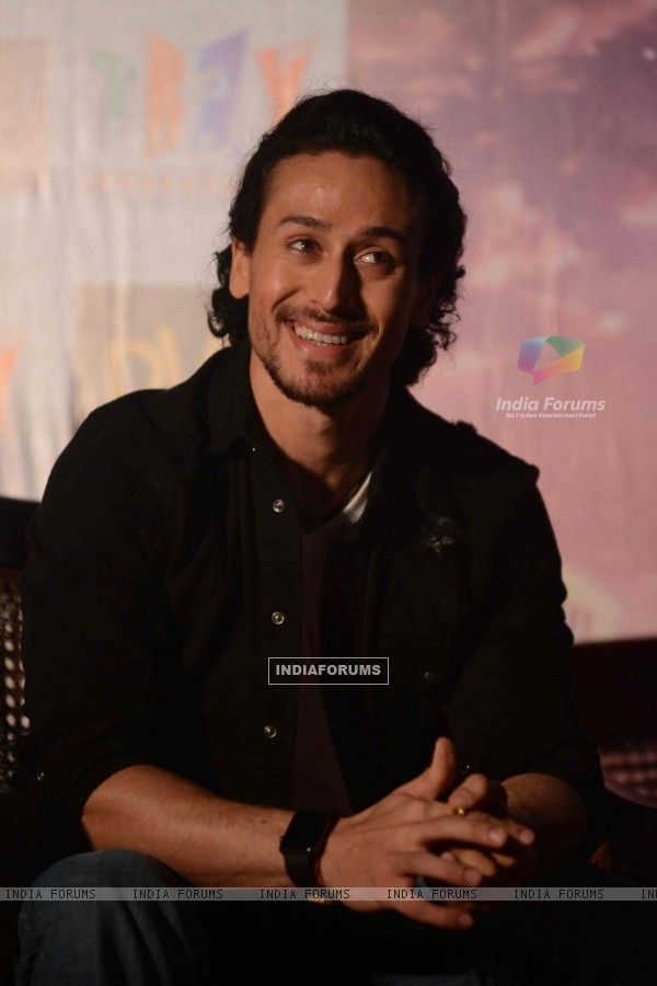 Tiger Shroff at Press meet of 'A Flying Jatt' in Delhi