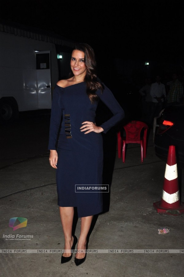Neha Dhupia at Miss Diva Promo Shoot