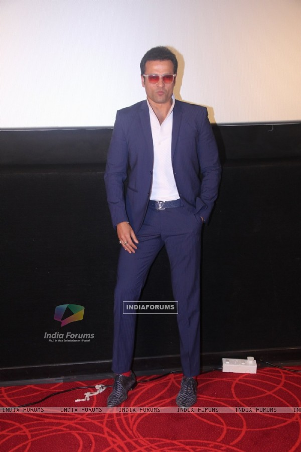 Rohit Roy at Trailer launch of Film 'Dark Chocolate'