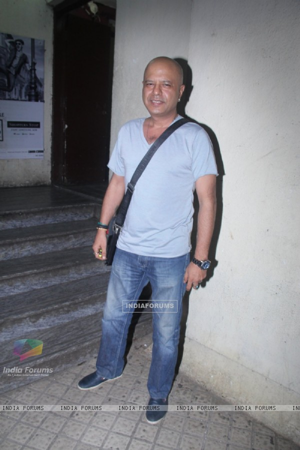 Naved Jaffery at Special screening of the film 'Happy Bhag Jayegi'