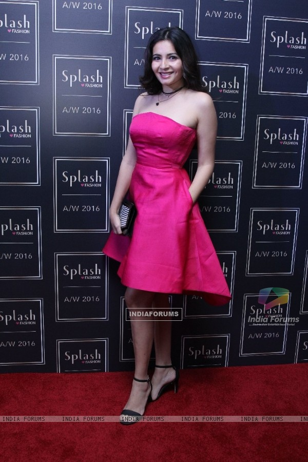 Shonali Nagrani at the launch of Splash Fashion's AW16 collection