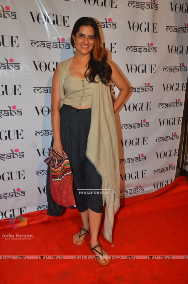 Sona Mohapatra at Launch of Masaba's Store