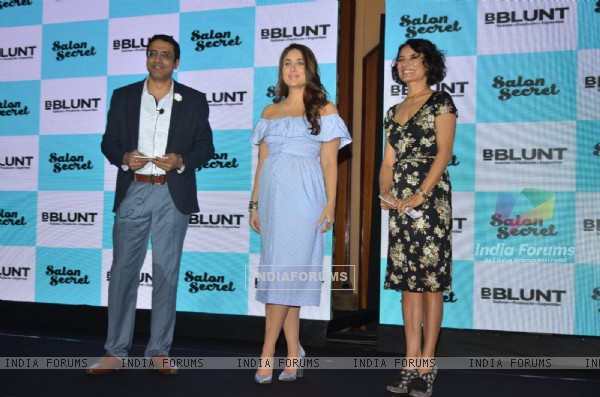 Kareena Kapoor and Adhuna Bhabani Akhtar at B Blunt Event