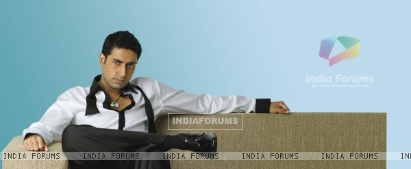 Abhishek Bachchan as a host in tv show National Bingo Night
