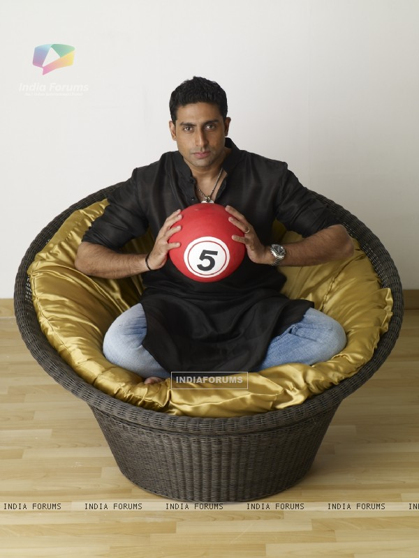 Abhishek Bachchan as a host