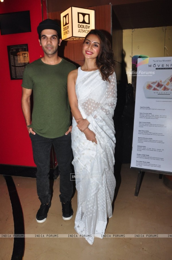 Patralekha and Rajkummar Rao at Launch of Film 'Saheb Bibi Goolam'