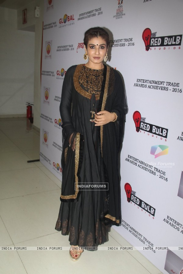 Raveena Tandon at Entertainment Trade Awards 2016