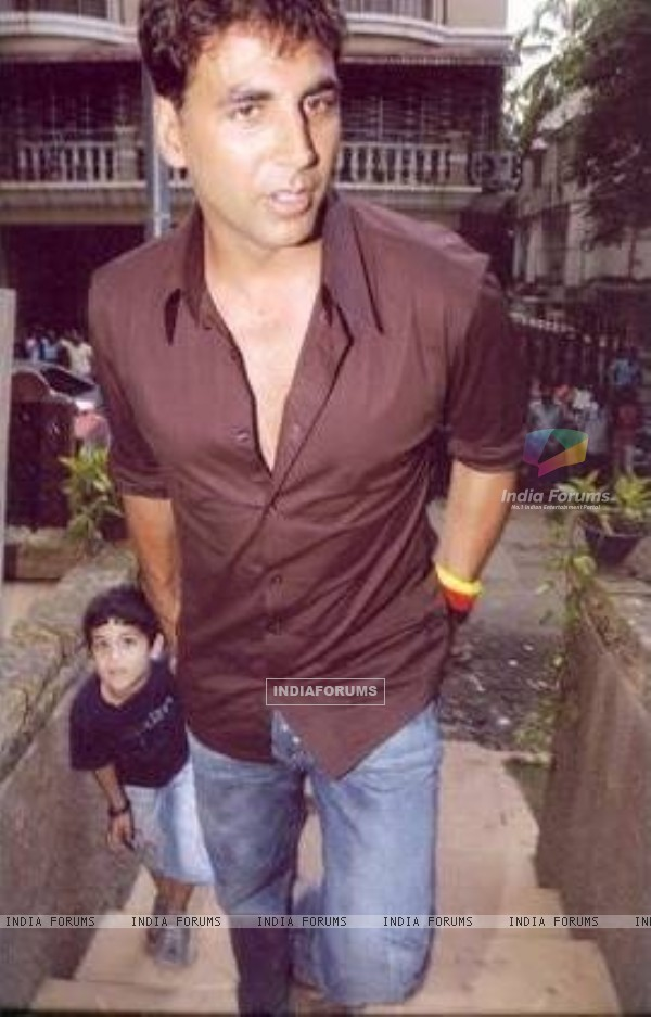 Akshay Kumar and Twinkle son Aarav