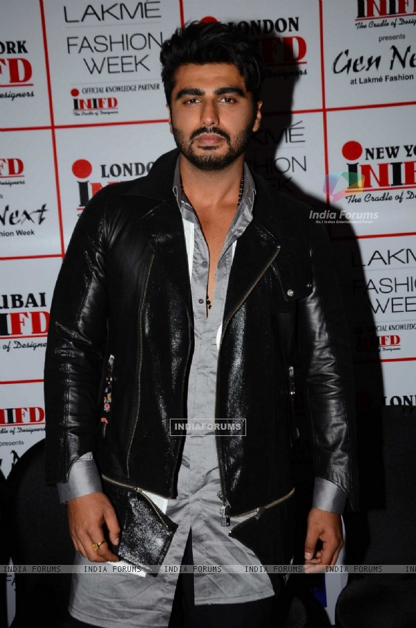 Arjun Kapoor at Lakme Fashion Week Winter Festive 2016- Day 1