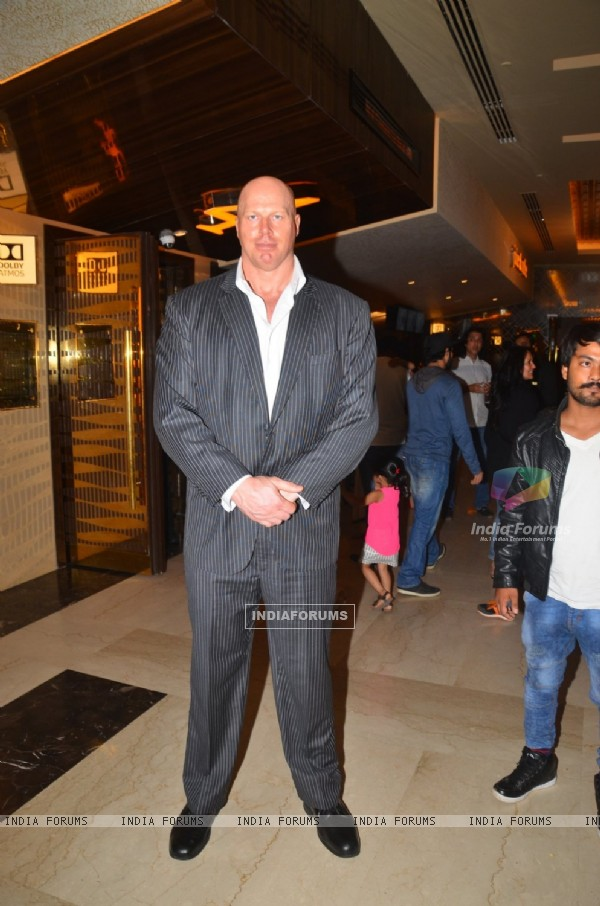 Nathan Jones at Special Screening of Film 'A Flying Jatt'