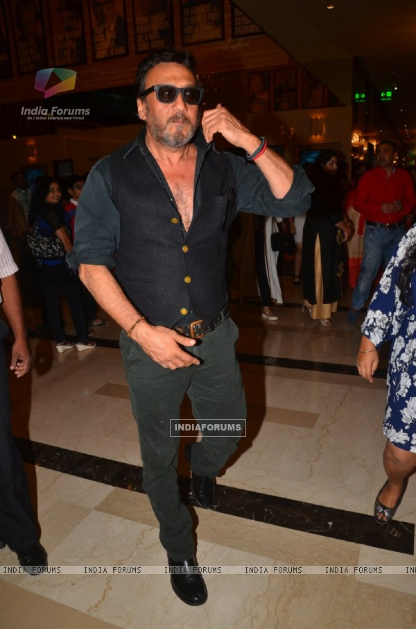 Jackie Shroff at Special Screening of Film 'A Flying Jatt'