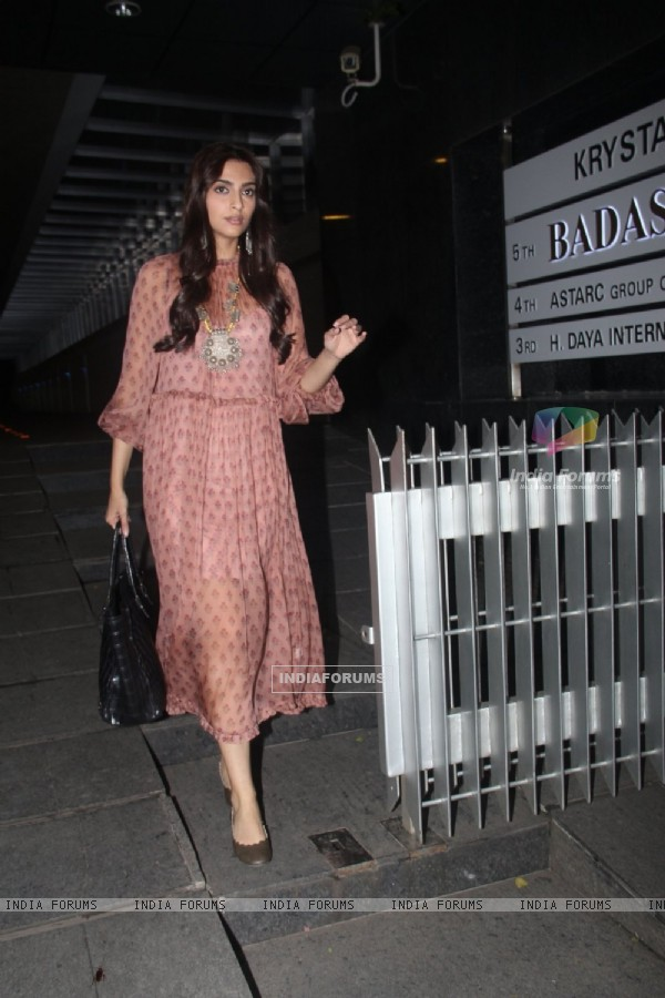 Sonam Kapoor snapped at Hakassan