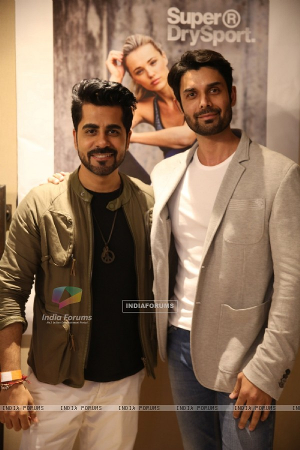 Amit Gaur and Gunjan Utreja at Launch of Superdry's AW'16 Sport Collection
