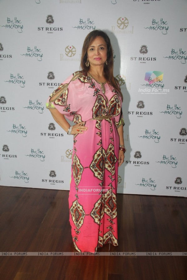 Smita Thackeray at Priya Kataria Puri's get together lunch at 'By The Mekong'