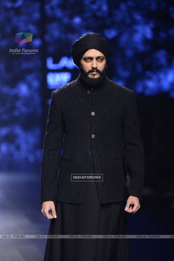 Day 4 - Riteish Deshmukh at Lakme Fashion Show 2016