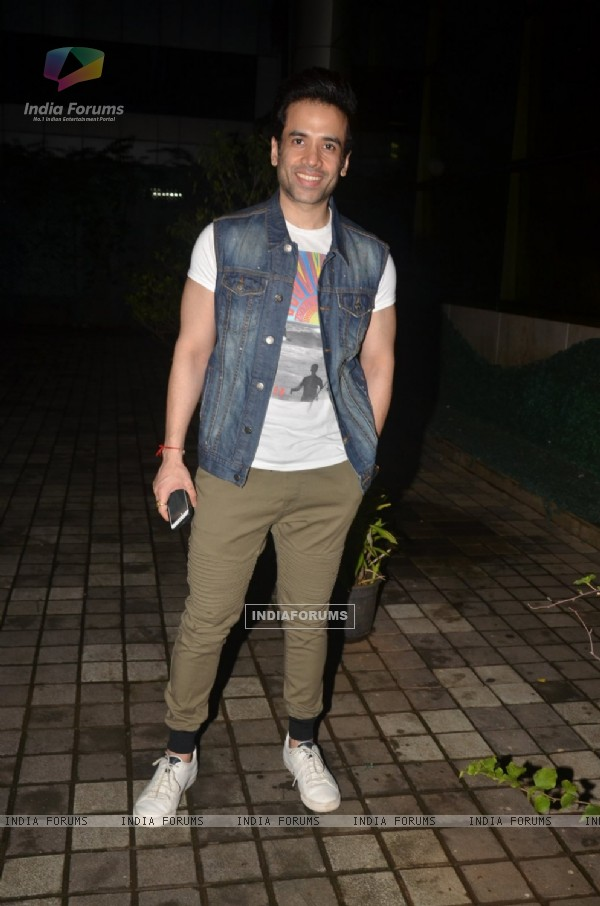 Tusshar Kapoor at Launch of Sophie Choudry's Song 'Sajan Main Nachungi'
