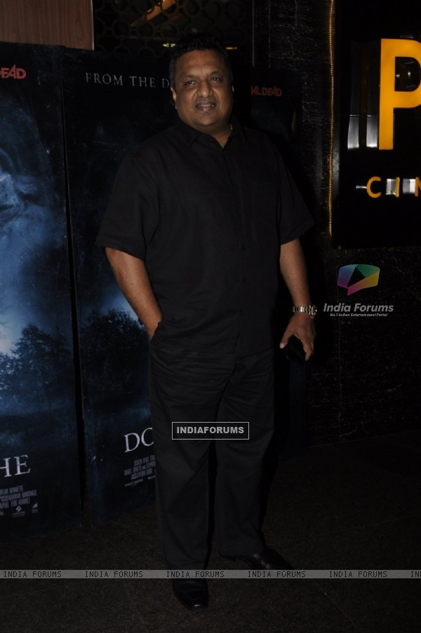 Sanjay Gupta at Premiere of film 'Don't Breathe'