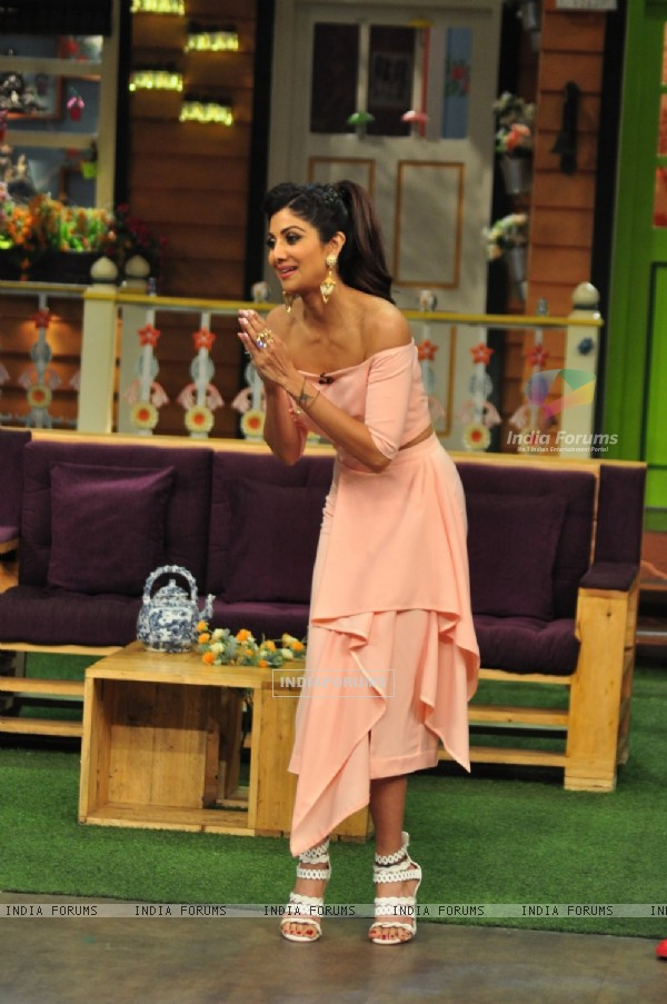 Shilpa Shetty at Promotion of 'Super Dancer' on sets of The Kapil Sharma Show