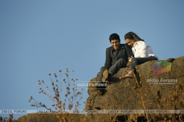 Still from the movie Karthik Calling Karthik