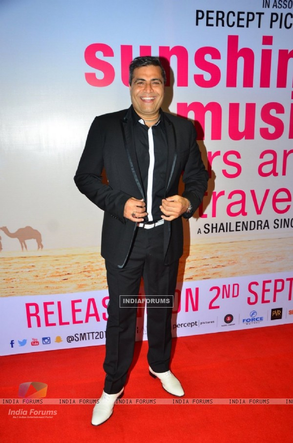 Shailendra Singh at Screening of 'Sunshine Music Tours & Travels'