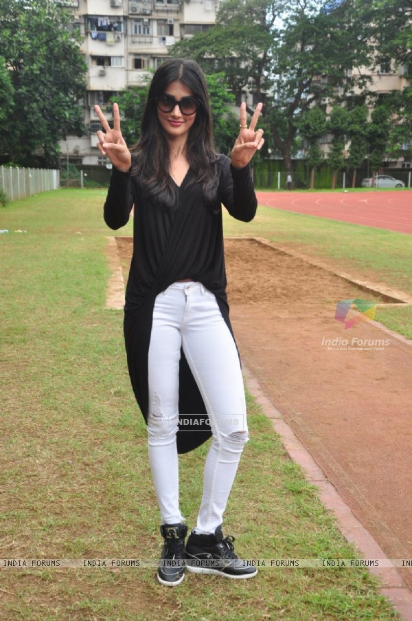 Pooja Hegde at Bombay City District Amateur Athletics Association